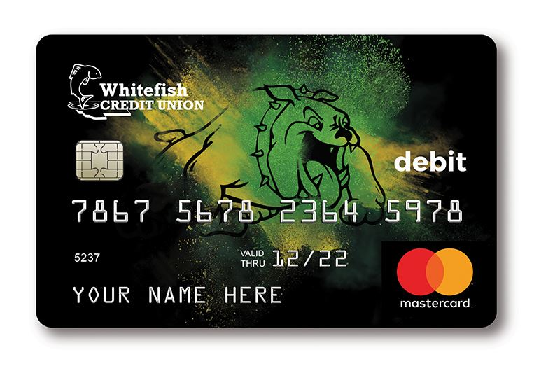 BULLDOGS Debit Card