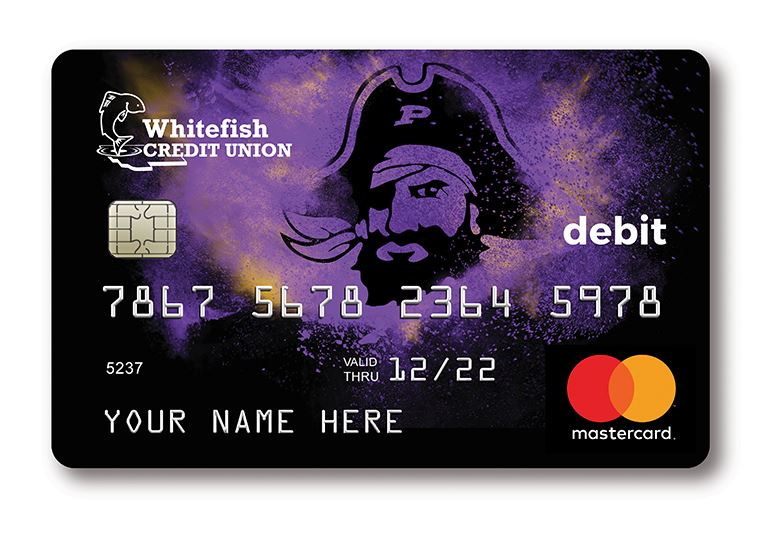 PIRATES Debit Card